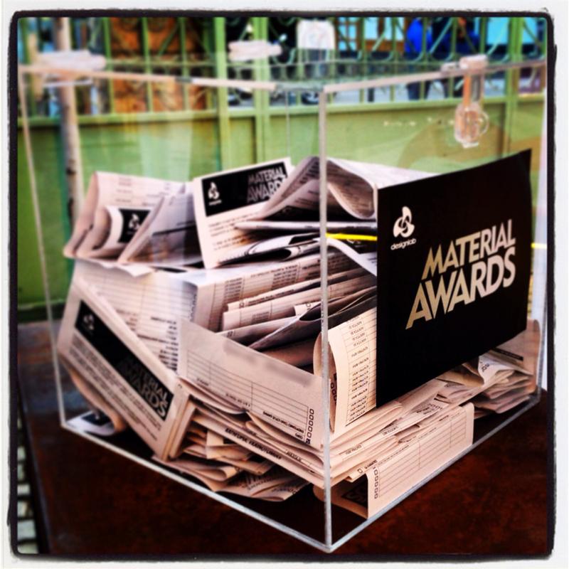 Material Awards 2015