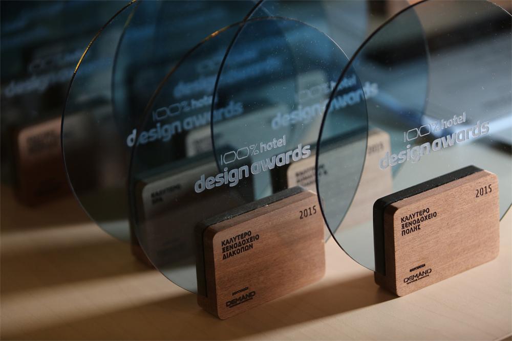 Η τελετή απονομής των 100% Hotel Design Awards κατά την 2η ημέρα του ArchiGuide Event by Design Lab